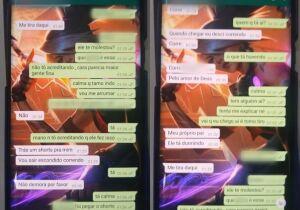 Jovem denuncia pai por estupro e pede socorro para amigos por aplicativo