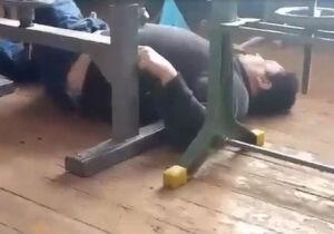VÍDEO: professor cai bêbado em sala de aula e é demitido