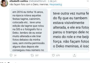#ExposedCG: fotógrafo de Campo Grande é acusado de assédio sexual