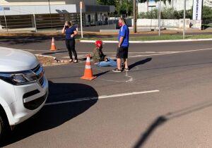 Vereador se envolve em acidente em frente à Câmara de Campo Grande