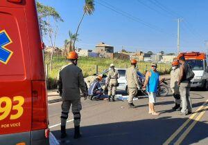 Rapaz morre após bater moto em carro no Estrela do Sul