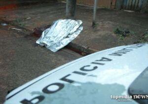 Rapaz é assassinado na frente da casa da ex-mulher em Campo Grande