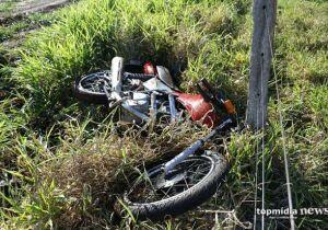 Motociclista se corta em arame de fazenda e morre na Santa Casa