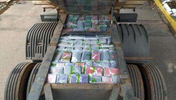 É da ruim: PF apreende quase meia tonelada de cocaína em Ponta Porã
