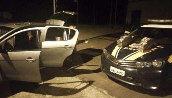 Canalha! Motorista é preso com 30kg de cocaína avaliada em R$ 1,2 milhão