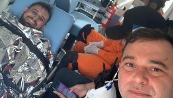 Após sequestro, jornalista é encontrado com os braços e pernas quebradas
