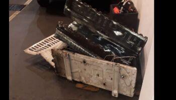 Ajudante de pedreiro é preso desmontando ar-condicionado furtado de loja