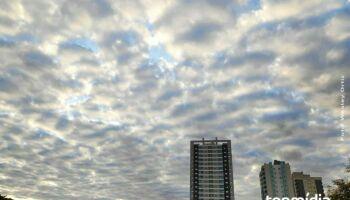 'Sextou' com previsão de chuva e máxima de 36ºC no Estado