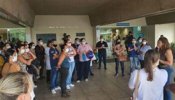 Enfermagem repudia 'reajuste zero' e negocia com Santa Casa para evitar greve