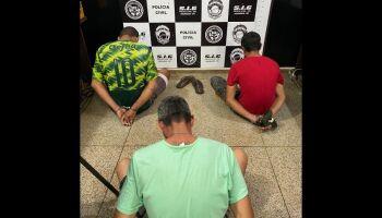 Traficantes que intimidavam moradores são presos pela Polícia Civil