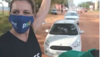 Em Aquidauana, Viviane Orro tem propaganda em carro de som suspensa pela Justiça