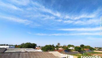 Sábado terá pancadas de chuva e máxima de 41°C em MS