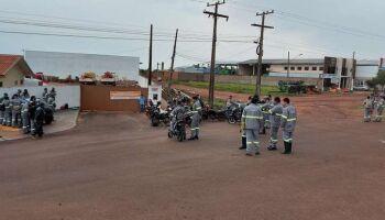 Funcionários de terceirizada da Energisa entram em greve por tempo indeterminado