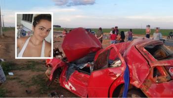 Motorista dirige usando celular, bate carro em pilha de concreto e morre