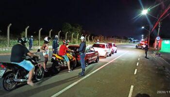 GCM encerra festa com mais de 350 pessoas em chácara em Campo Grande