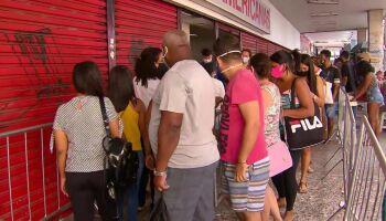 Com hospitais lotados, SES alerta para aglomerações na Black Friday
