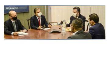 Nelsinho Trad é cotado para ministro do exterior, mas Bolsonaro promete que Araújo 'não cai'