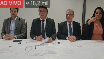 Ao comentar sobre alta na conta de luz, Bolsonaro pede banho rápido à população