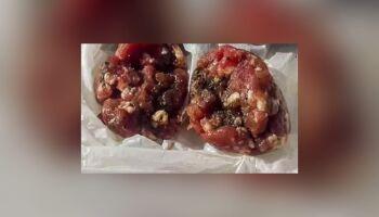 Moradora faz alerta ao encontrar carne com veneno para animais na Vila Jacy