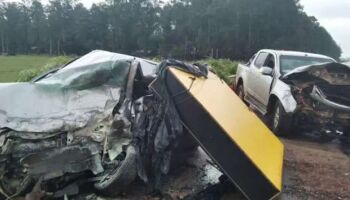 Homem morre em acidente entre dois veículos na MS-156