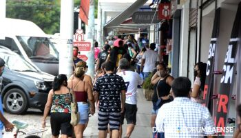 Em Corumbá, comércio vai funcionar até às 20h para evitar aglomeração