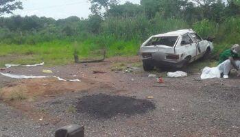 Paciente com covid e motorista morrem em acidente na MS-339