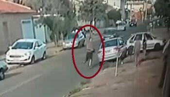 Vídeo: homem discute por carro estacionado e dá 'chutão' na barriga de mulher em SP