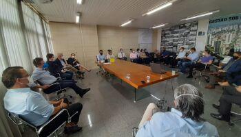 Em reunião com secretário estadual, Marquinhos discute restrições mais duras na Capital