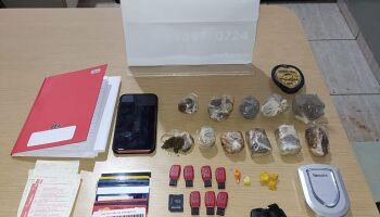 Traficante que usava Hyundai para entregar droga é preso com maconha e cocaína