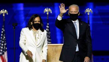 Eleito presidente dos EUA, Joe Biden toma posse em cerimônia virtual