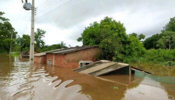 Com famílias desabrigadas pela chuva, Nioaque declara situação de emergência