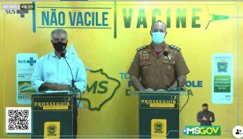 Azambuja promete corrida para comprar mais vacinas e se solidariza com famílias em luto