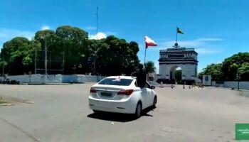 Vídeo: Ladário e Corumbá também fazem o 'Fora Bolsonaro'