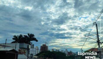 Domingão terá pancadas de chuva e máxima não passa de 32º C em Campo Grande