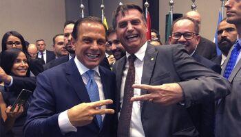 46% dos brasileiros afirmam que Doria fez mais que Bolsonaro contra a covid-19