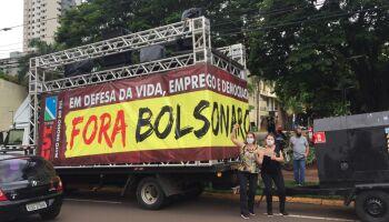 Segunda carretada 'Fora Bolsonaro' acontece neste sábado em Campo Grande