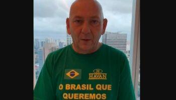 Prestes a ter alta, Luciano Hang diz ter usado cloroquina e defende vacinação