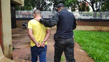 Polícia civil prende suspeito de cometer homicídio em Dourados