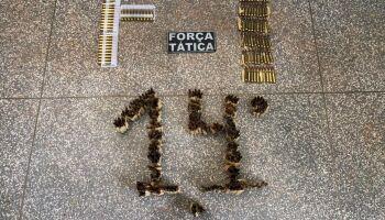 Operação na fronteira prende dupla que levaria 500 munições de fuzis para o RJ