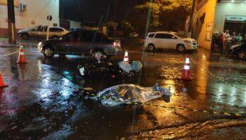 Motorista diz que bebeu horas antes de acidente que matou motociclista em Dourados
