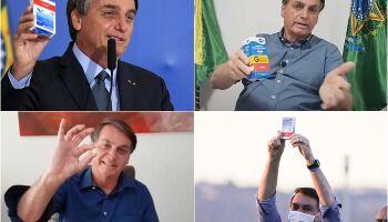 'Tá tudo bem, presida?' Bolsonaro apaga fotos com propaganda da cloroquina
