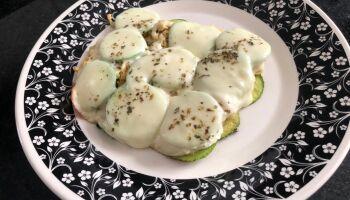Receita Saudável: Pizza de Abobrinha