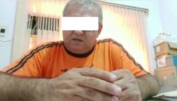 Acusado de 'tirar a infância' da afilhada com abusos, professor vai para presídio de Aquidauana