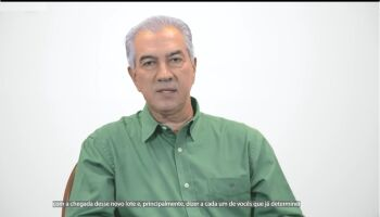 Governador Reinaldo pede colaboração em aplicação das vacinas Oxford em MS