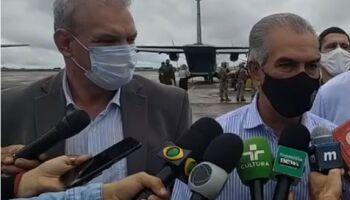 MS oferece 10 UTIs de covid para Manaus, que vive colapso na saúde