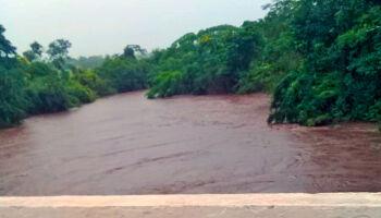 'Chuvarada' deixa Defesa Civil em alerta com crescente de três rios em MS