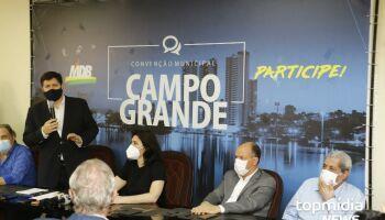 Em Campo Grande, Baleia Rossi pede apoio de políticos e fala em 'parlamento independente'