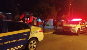 Motociclista bêbado é preso após provocar acidente e tentar fugir em matagal