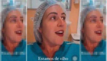 Enfermeira que 'zombou' da vacina contra covid será investigada e pode perder registro