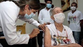 Vidas preservadas: em MS, 11,4 mil já receberam vacina contra a covid-19